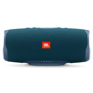 JBL Charge 4 Portable Bluetooth Speaker with a Built-In Power Bank - Blue