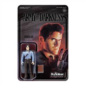 Super7 Army Of Darkness ReAction Figure - Medieval Ash (Midnight)