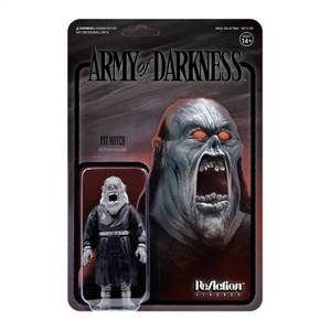 Super7 Army Of Darkness ReAction Figure - Pit Witch (Midnight)