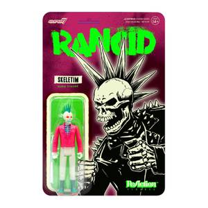 Super7 Rancid ReAction Figure - Skeletim (Glow)