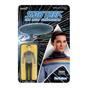 Super7 Star Trek : La Nouvelle Génération Figurine articulée - Wesley Crusher