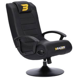 BraZen Stag 2.1 Bluetooth Surround Sound Gaming Chair - Black