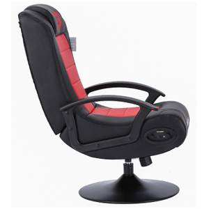 BraZen Stag 2.1 Bluetooth Surround Sound Gaming Chair - Red