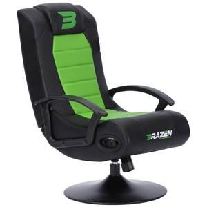 BraZen Stag 2.1 Bluetooth Surround Sound Gaming Chair - Green