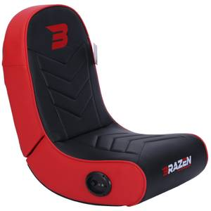BraZen Stingray 2.0 Surround Sound Gaming Chair - Red