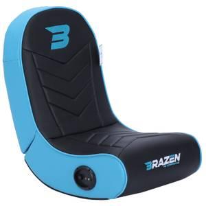 BraZen Stingray 2.0 Surround Sound Gaming Chair - Blue