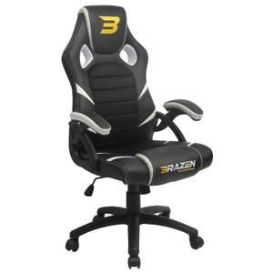 BraZen Puma PC Gaming Chair - White
