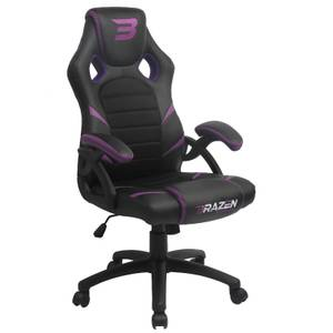 BraZen Puma PC Gaming Chair - Purple