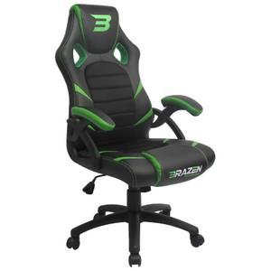 BraZen Puma PC Gaming Chair - Green