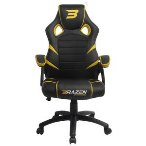 BraZen Puma PC Gaming Chair - Yellow