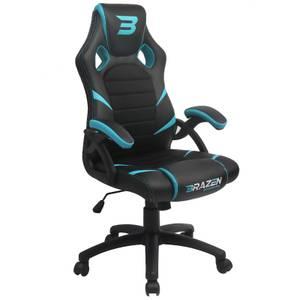 BraZen Puma PC Gaming Chair - Blue