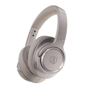 Audio Technica ATH-SR50BTBW Wireless Bluetooth Headphones - Brown/Grey