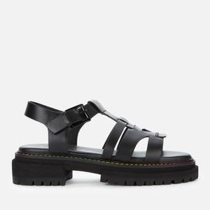 Kurt Geiger London Women's Birdie Leather Chunky Sandals - Black