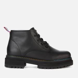 Kurt Geiger London Women's Birdie Low Leather Ankle Boots - Black