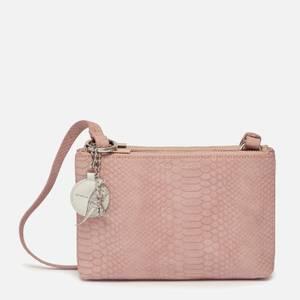 Estella Bartlett Women's The Southwark Double Cross Body Bag - Pink