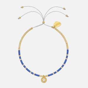 Estella Bartlett Women's Polaris Star Beaded Louise Bracelet - Yellow Gold