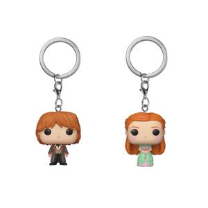 Harry Potter Ron & Ginny Weasley Funko Pop! Keychain Bundle