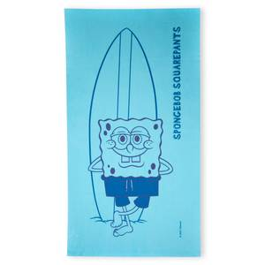 Spongebob Squarepants Surf's Up Beach Towel