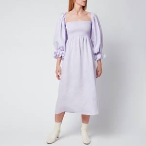 Sleeper Women's Atlanta Linen Dress - Lavender