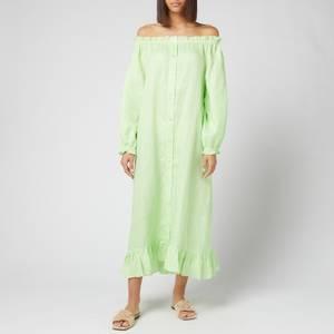 Sleeper Women's Loungewear Dress - Lime