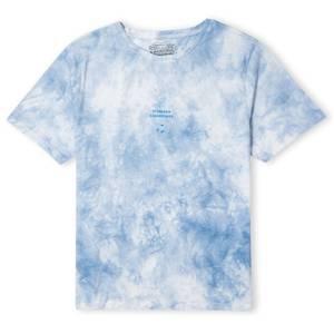 SpongeBob SquarePants Floating In Bubbles Unisex T-Shirt - Licht Blauw Tie Dye