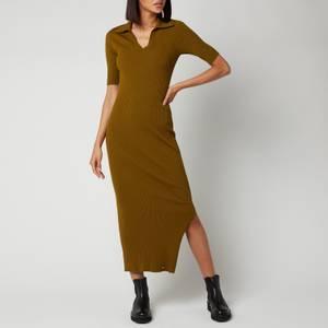 Ted Baker Women's Pileepa Polo Midi Dress - Khaki