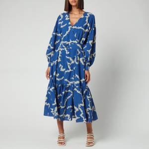 Ted Baker Women's Oapall Oversized Wrap Dress - Mid-Blue