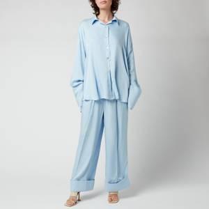 Sleeper Women's Sizeless Viscose Pajama Set - Blue
