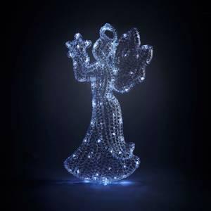 Angel Spun Acrylic LED Christmas Light Decoration - 60cm