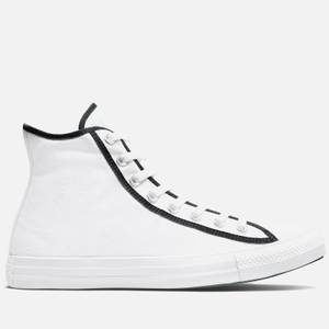 Converse Men's Chuck Taylor All Star Between The Lines Hi-Top Trainers - White/Black/White