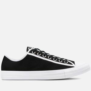 Converse Men's Chuck Taylor All Star Between The Lines Ox Trainers - Black/White/White