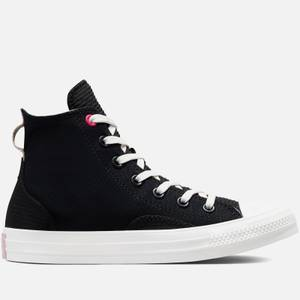 Converse Women's Chuck Taylor All Star Future Utility Hi-Top Trainers - Black/Almost Black/Vintage White