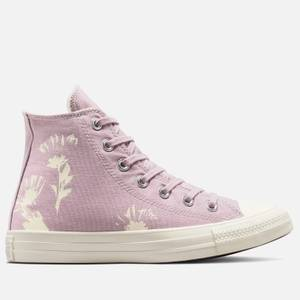 Converse Women's Chuck Taylor All Star Hybrid Floral Hi-Top Trainers - Himalayan Salt/Egret/Egret