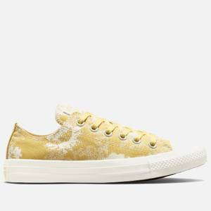 Converse Women's Chuck Taylor All Star Hybrid Floral Ox Trainers - Saturn Gold/Egret/Saturn Gold