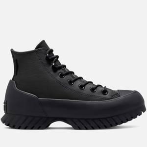 Converse Women's Chuck Taylor All Star Cold Fusion Lugged Winter 2.0 Boots - Black/Black/Bold Mandarin