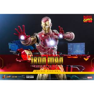 Hot Toys Marvel Iron Man 1:6 Scale Deluxe The Origins Collection