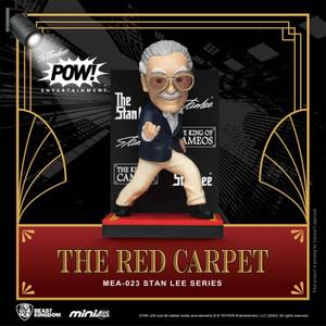 Beast Kingdom Stan Lee Mini Egg Attack Action Figure Stan Lee The Red Carpet 8 cm