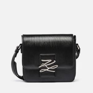 Karl Lagerfeld 女士 K/Autograph Spec 斜挎外壳 - 黑色