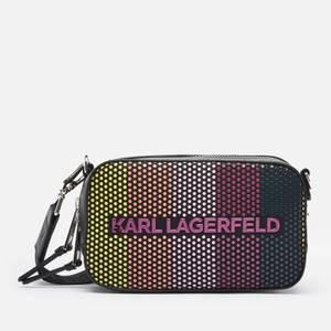 KARL LAGERFELD Women's K/Skuare Camera Biarritz Bag - Multi