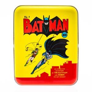 DC Batman Spielkarten & Dose in Gelb für Sammler