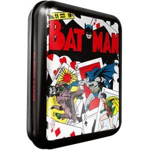 DC Batman Spielkarten & Dose in Schwarz für Sammler