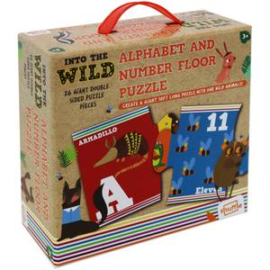 Shuffle - Into the Wild - Alphabet & Number Floor Puzzle
