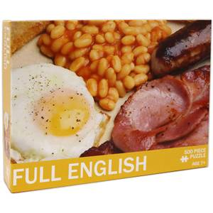 Full English Jigsaw Puzzle (500 Pieces)