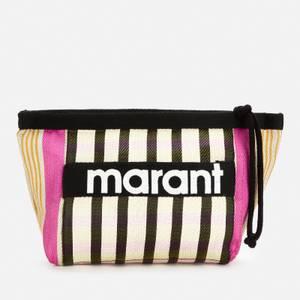 Isabel Marant Women's Powden Wash Bag - Black
