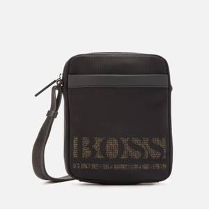 BOSS Men's Magnified Ns Zip Reporter Bag - Black