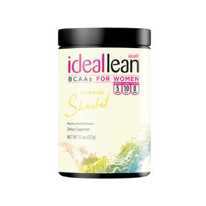 IdealLean BCAAs - Rainbow Sherbet - 30 Servings
