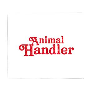 Animal Handler Fleece Blanket