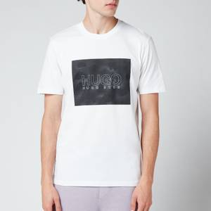 HUGO Men's Dolive Logo T-Shirt - White