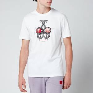 HUGO Men's Dnake T-Shirt - White