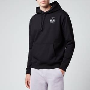 HUGO Men's Derpiente Pullover Hoodie - Black
